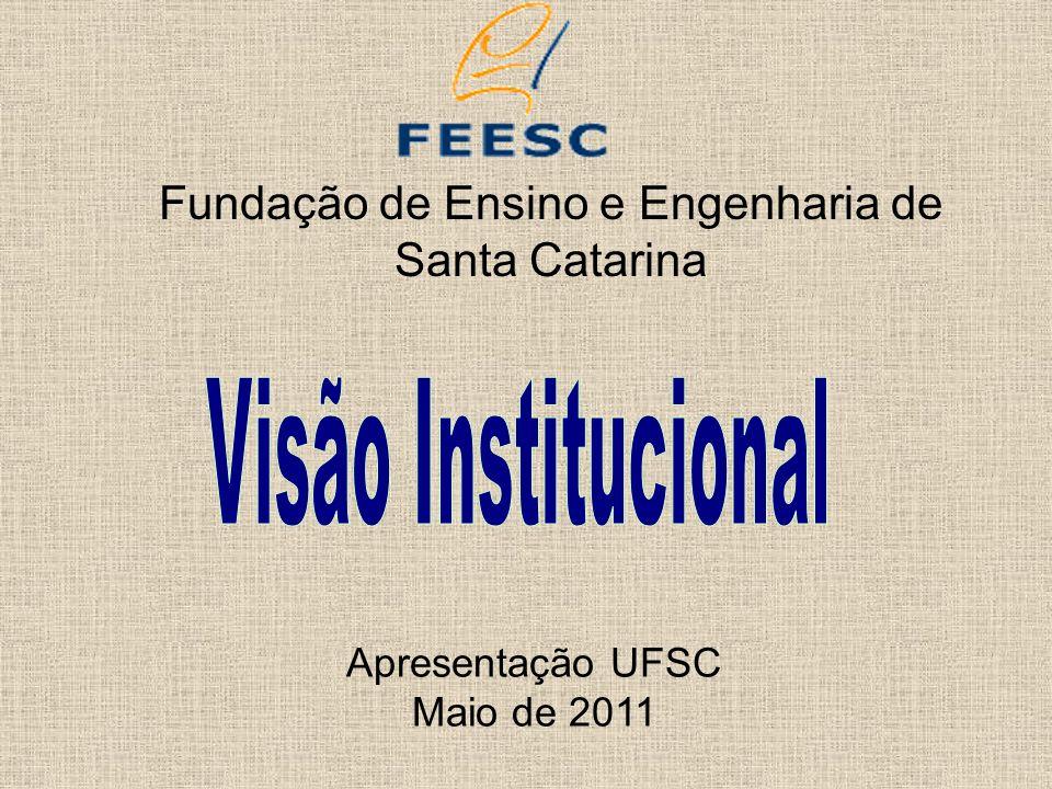 Fundação de Ensino e Engenharia de Santa Catarina Apresentação UFSC Maio de 2011