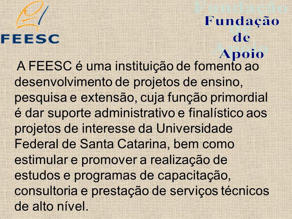 Para o funcionamento de suas unidades, a FEESC conta com um quadro de pessoal, em tempo integral, composto por 49 técnicos e administrativos.