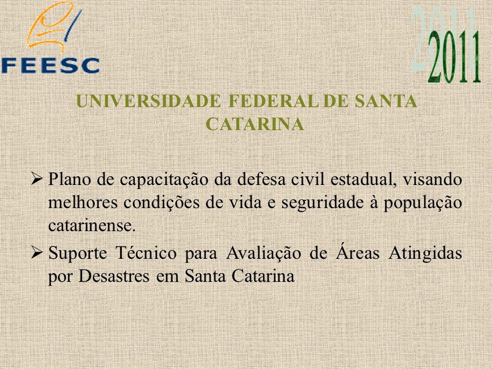 UFSC E SECRETARIA ESPECIAL DE PORTOS DA PRESIDÊNCIA DA REPÚBLICA Estudos de Planejamento para o Setor Portuário