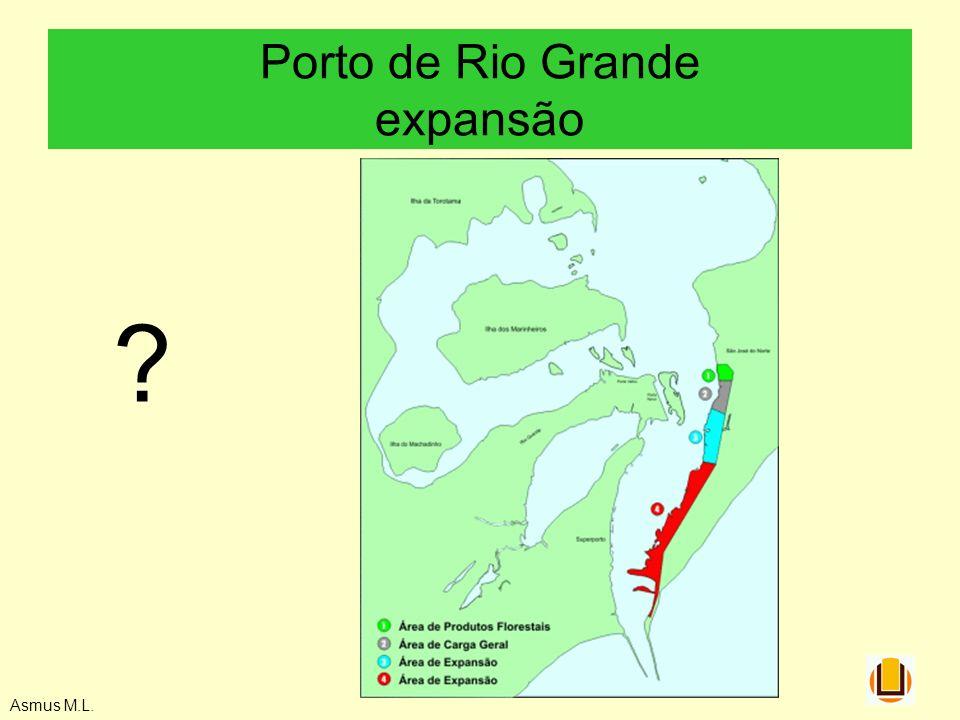 Porto de Rio Grande expansão Asmus M.L. ?