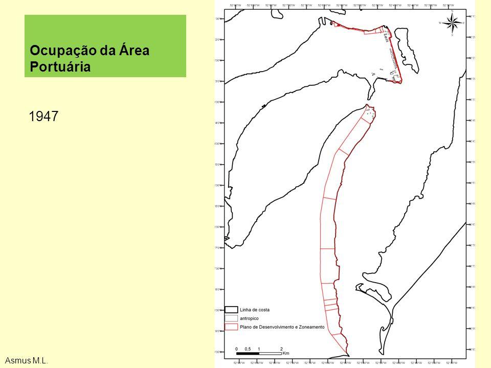 Ocupação da Área Portuária 1947 Asmus M.L.