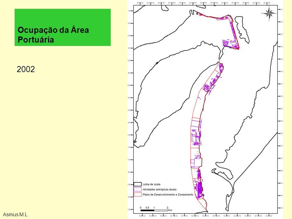 Ocupação da Área Portuária 2002 Asmus M.L.