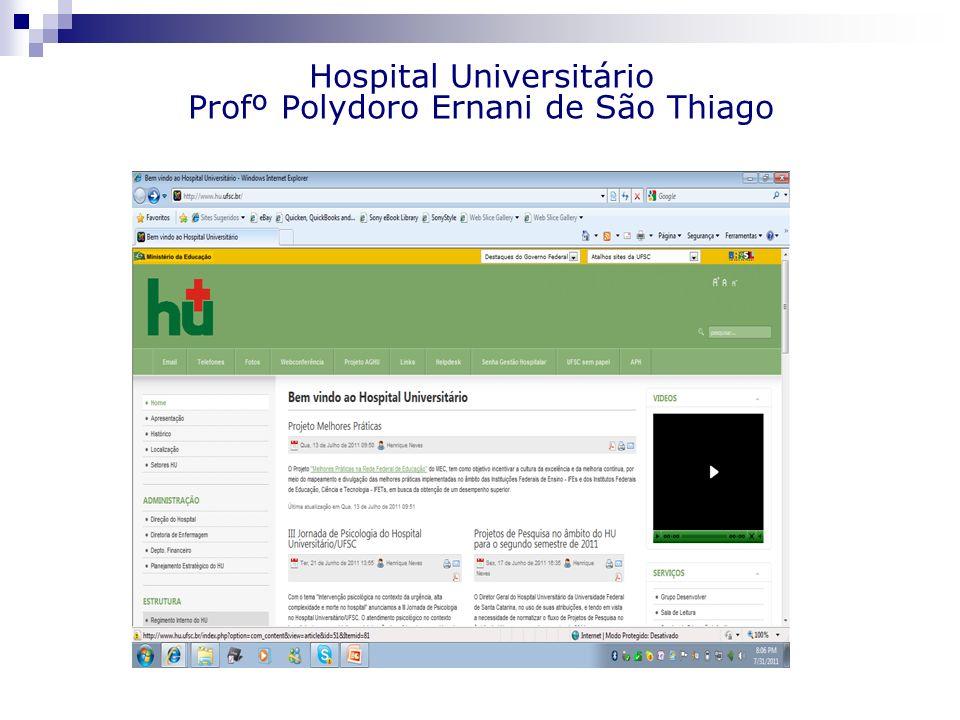 Hospital Universitário Profº Polydoro Ernani de São Thiago