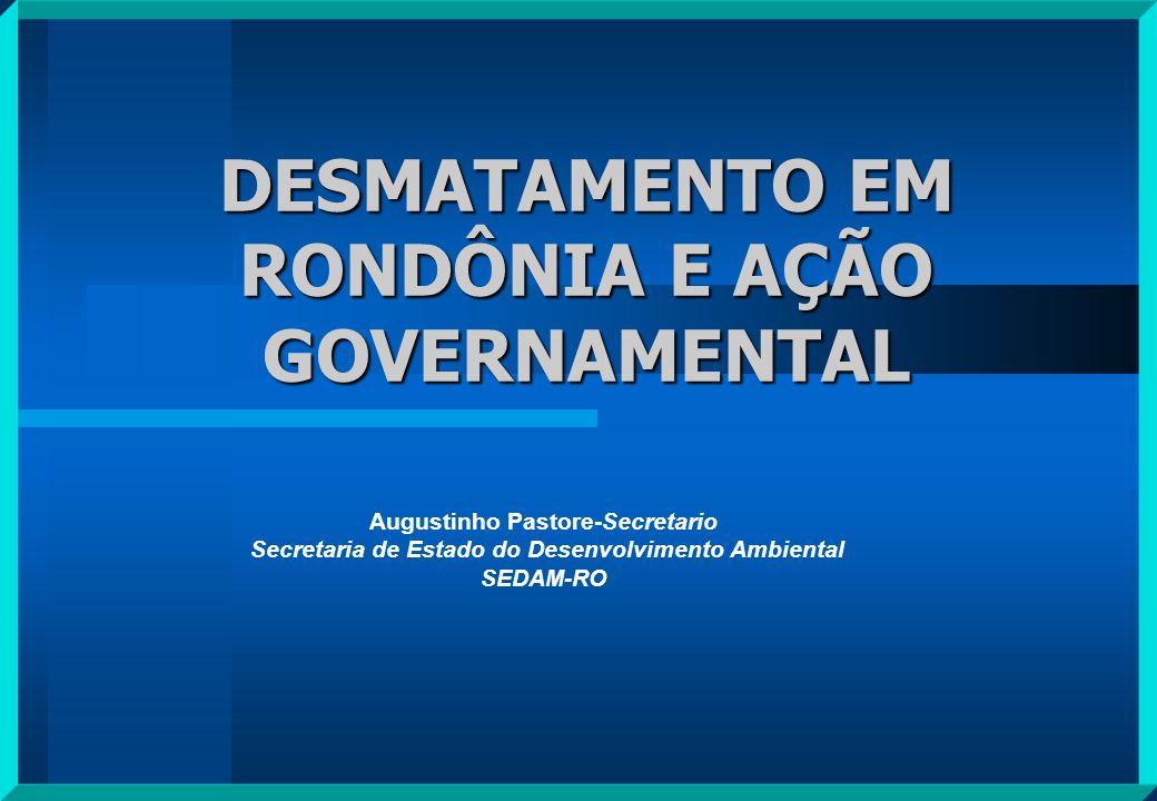 A estratégia do Governo Federal de inserir o espaço amazônico no contexto do desenvolvimento nacional se caracterizou, principalmente a partir da década de 70, por um conjunto de ações que visavam atrair produtores rurais, das regiões Sul, Sudeste e Nordeste para a Amazônia, através da oferta de terras férteis e fartas distribuídas de graça para os que se aventurassem no Novo El Dorado O então território federal de Rondônia foi fortemente impactado pelo processo migratório que se seguiu de 1970 e 1980, principalmente.