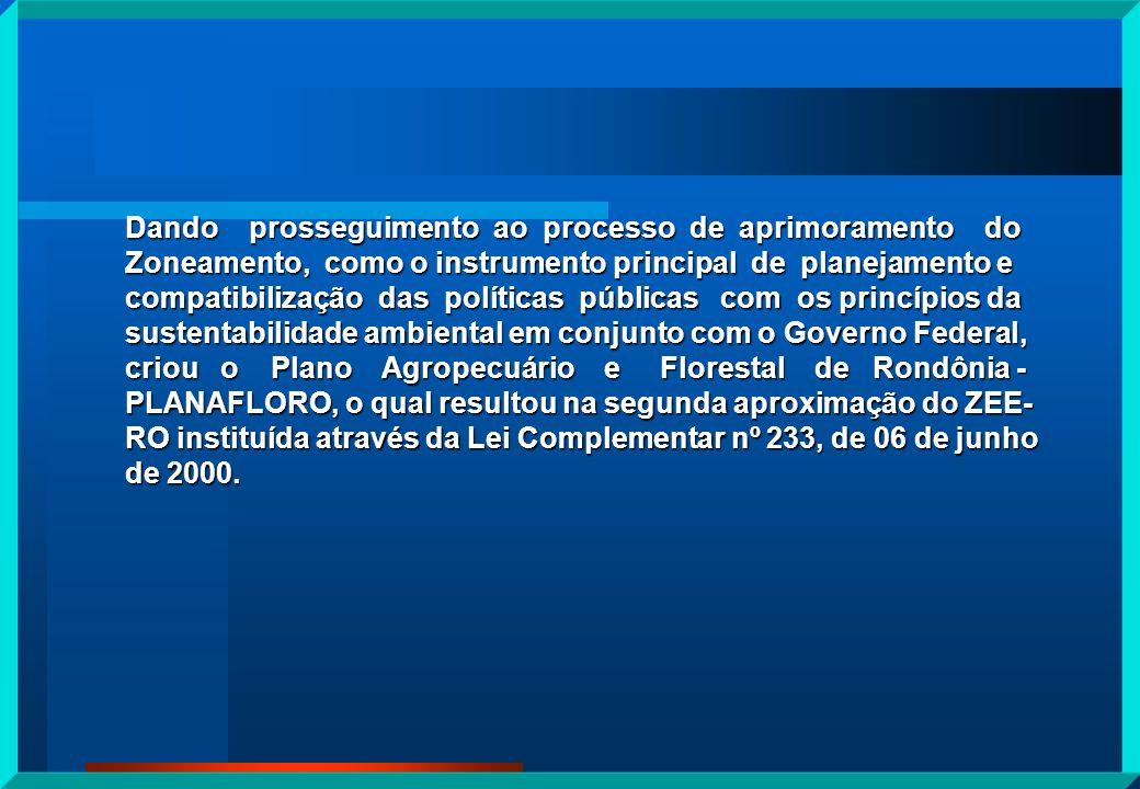 2ª APROXIMAÇÃO ZONEAMENTO LEI COMPLEMENTAR N.º 233, de 06 de junho de 2.000