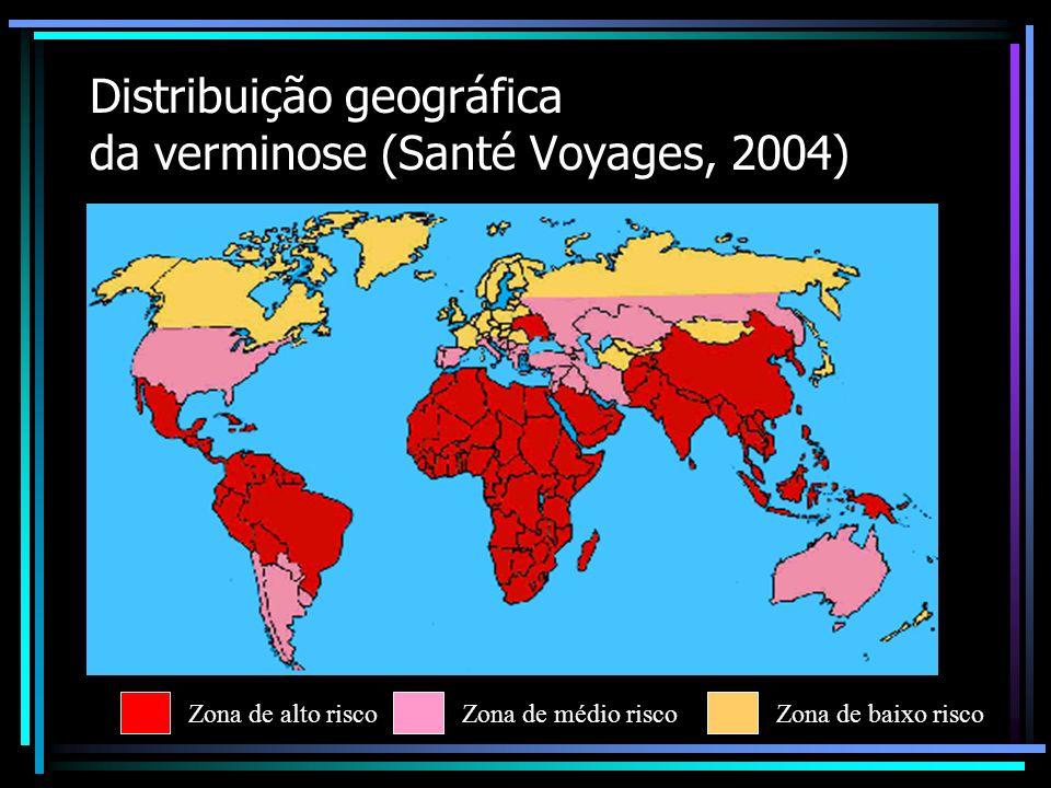 Doenças causadas por parasitos (s.s.) Sérias complicações em Saúde Pública Diarréias Obstruções intestinais Lesões de órgãos
