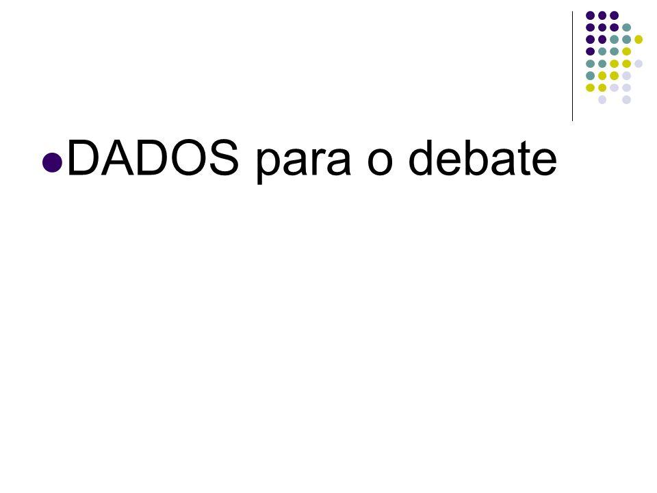 DADOS para o debate