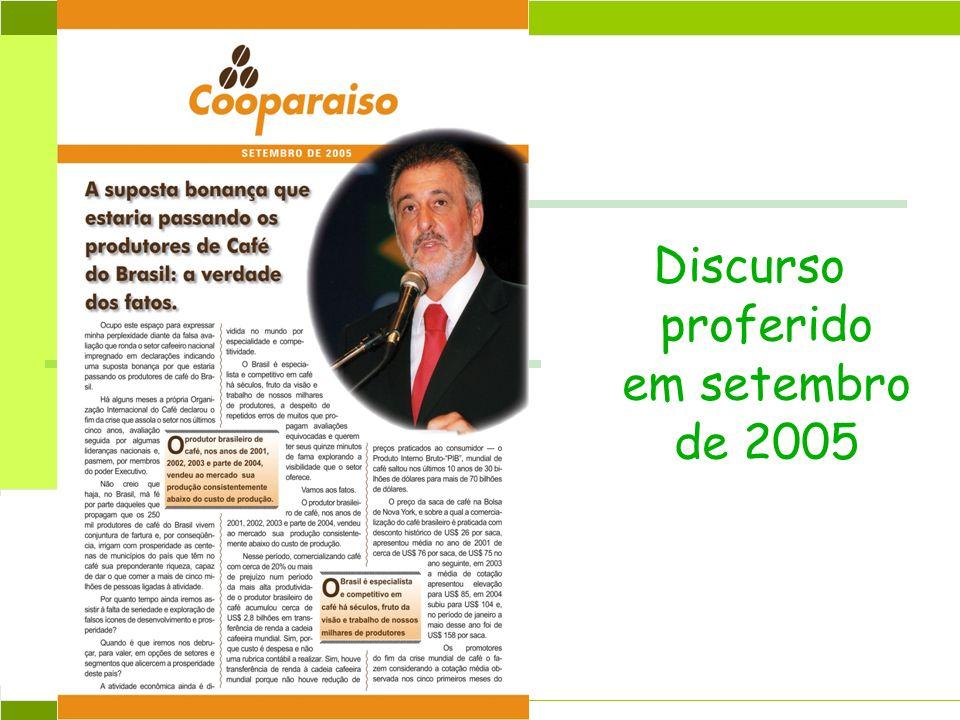 Abril 2004 Discurso proferido em setembro de 2005