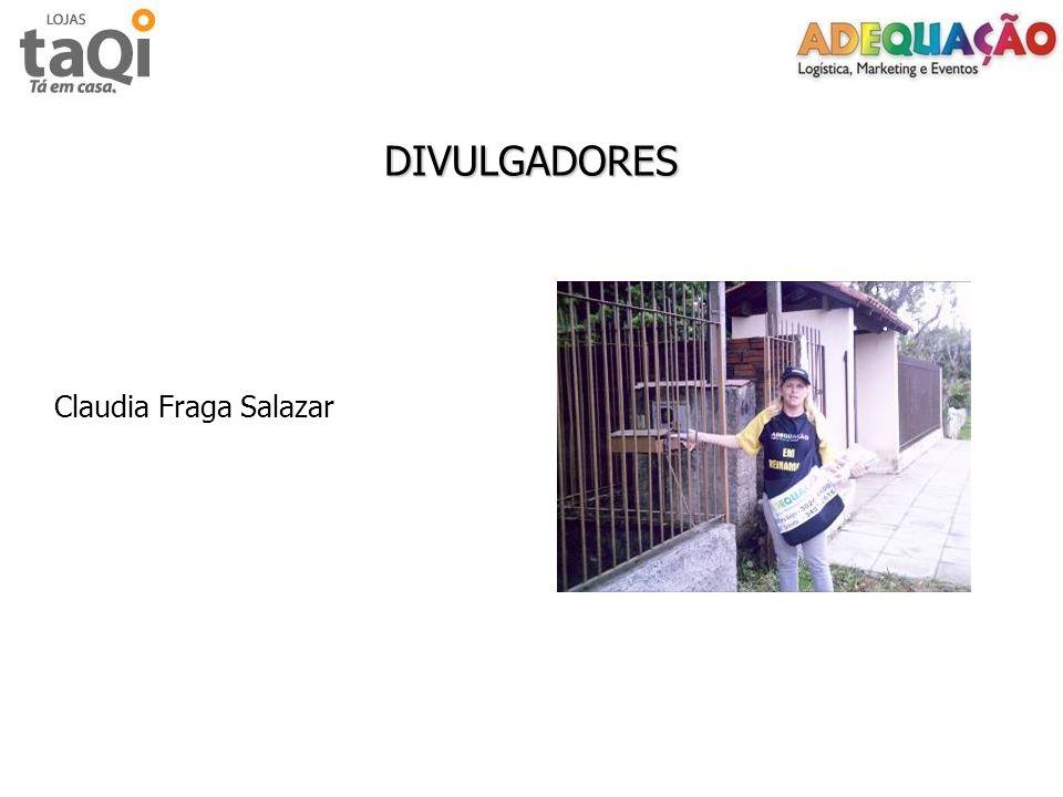 DIVULGADORES Claudia Fraga Salazar