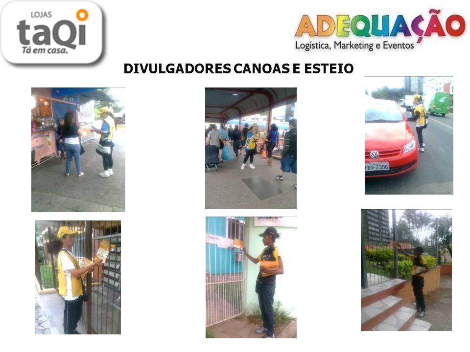 DIVULGADORES CANOAS E ESTEIO