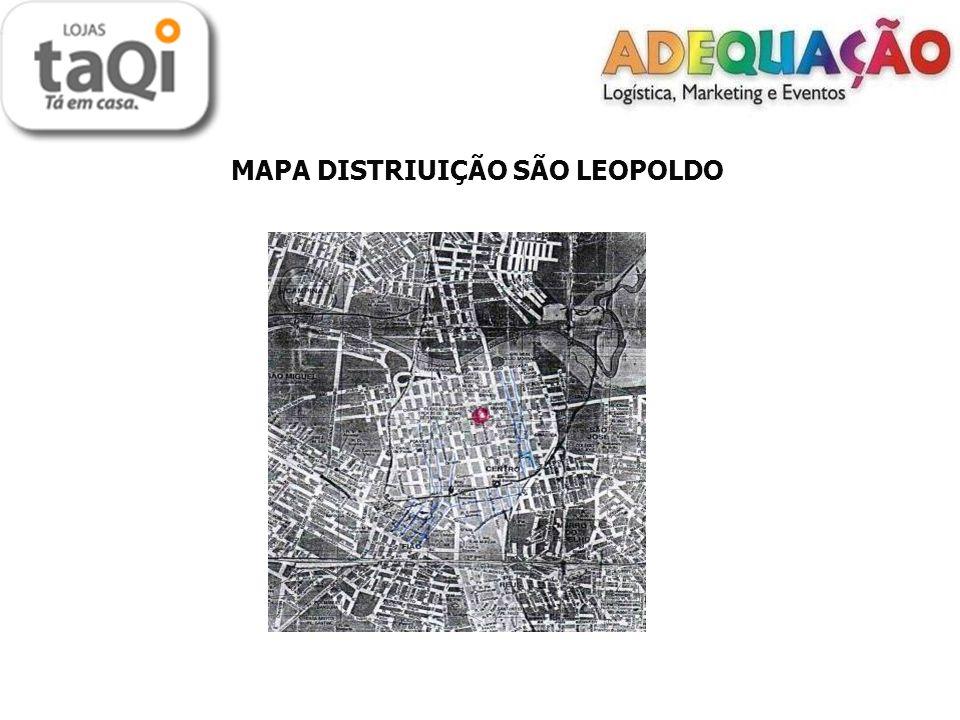 MAPA DISTRIUIÇÃO SÃO LEOPOLDO