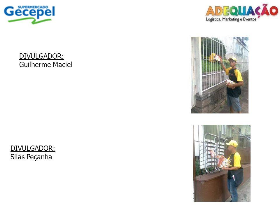 DIVULGADOR: Guilherme Maciel DIVULGADOR: Silas Peçanha