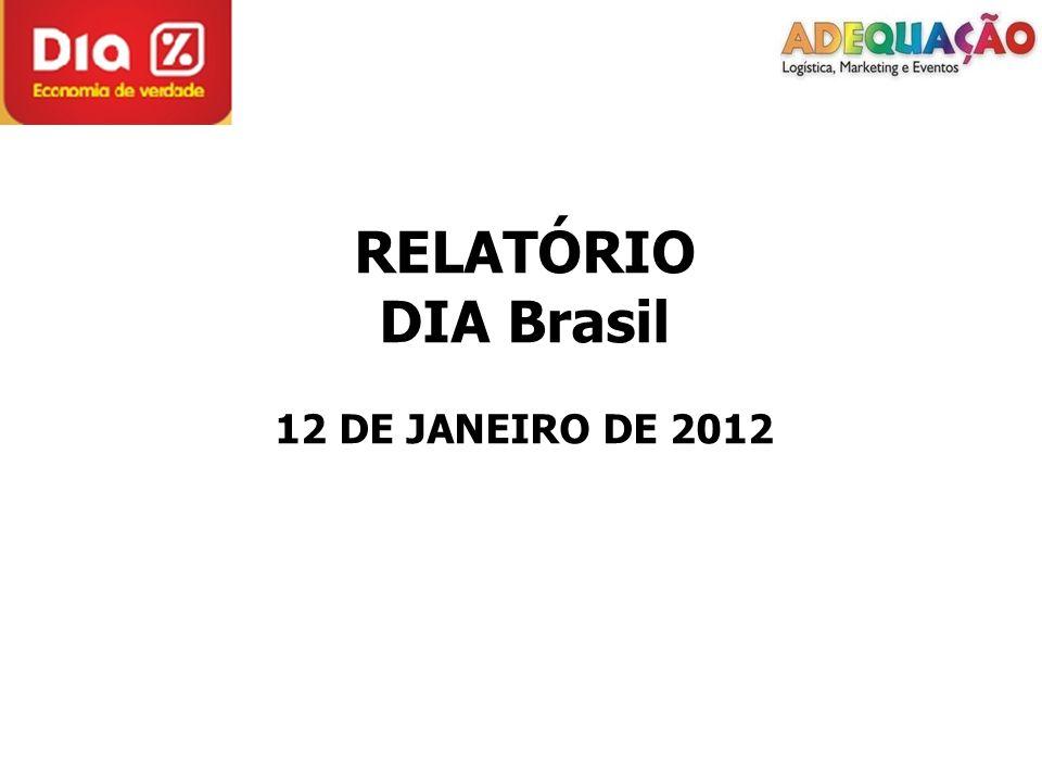 RELATÓRIO DIA Brasil 12 DE JANEIRO DE 2012