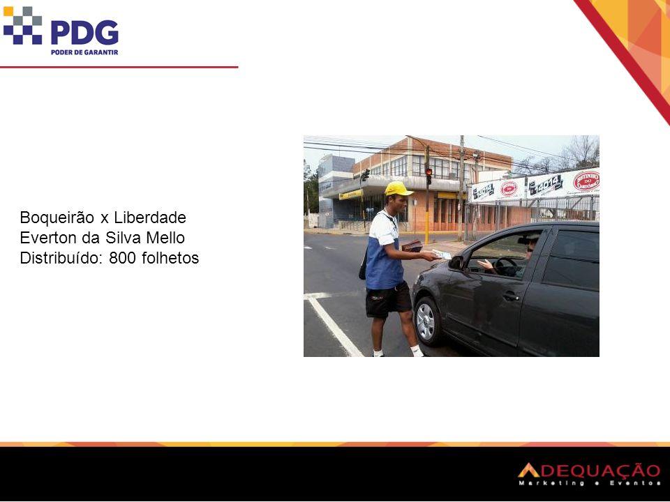 Dr. Barcelos x BR 116 Adrian Cesar Correa Morgardes Distribuído: 800 folhetos