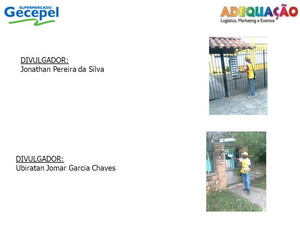 DIVULGADOR: Jonathan Pereira da Silva DIVULGADOR: Ubiratan Jomar Garcia Chaves