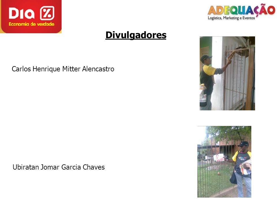 Divulgadores Carlos Henrique Mitter Alencastro Ubiratan Jomar Garcia Chaves