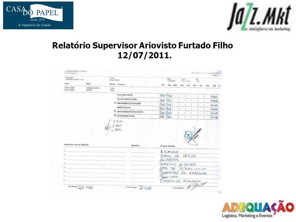 Relatório Supervisor Ariovisto Furtado Filho 12/07/2011.