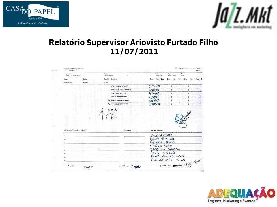 Relatório Supervisor Ariovisto Furtado Filho 11/07/2011