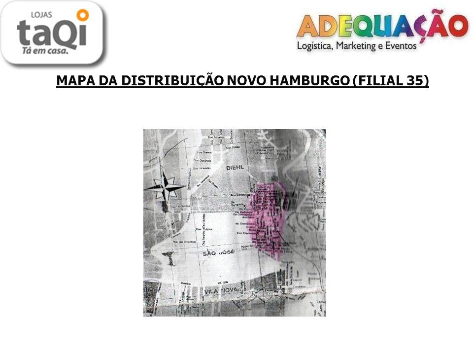 MAPA DA DISTRIBUIÇÃO NOVO HAMBURGO (FILIAL 35)