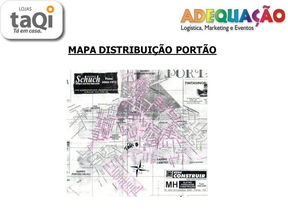 MAPA DISTRIBUIÇÃO PORTÃO