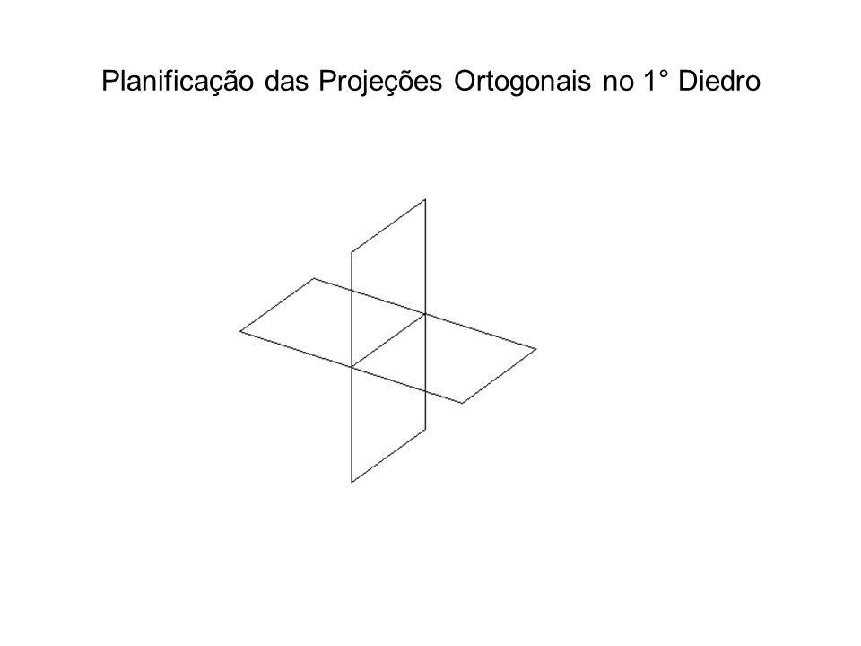 Projeção Paralela Ortogonal: representação de objetos em duas vistas Que peça é essa .
