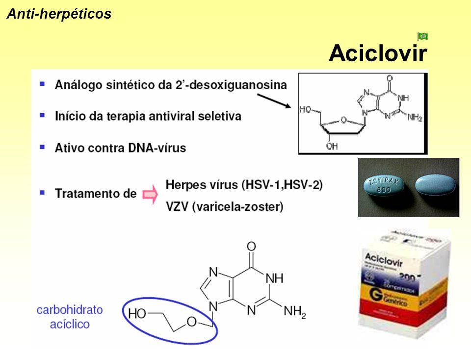 Aciclovir Anti-herpéticos