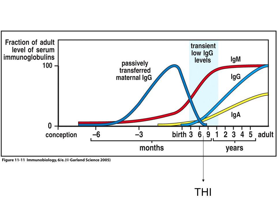 Perfil das doenças de deficiências de subclasses de IgG e de IgA Infecções crônicas/recorrentes do trato respiratório superior especialmente sinusites; Tendência em desenvolver alergias respiratórias e gastrointestinais e doenças autoimunes.