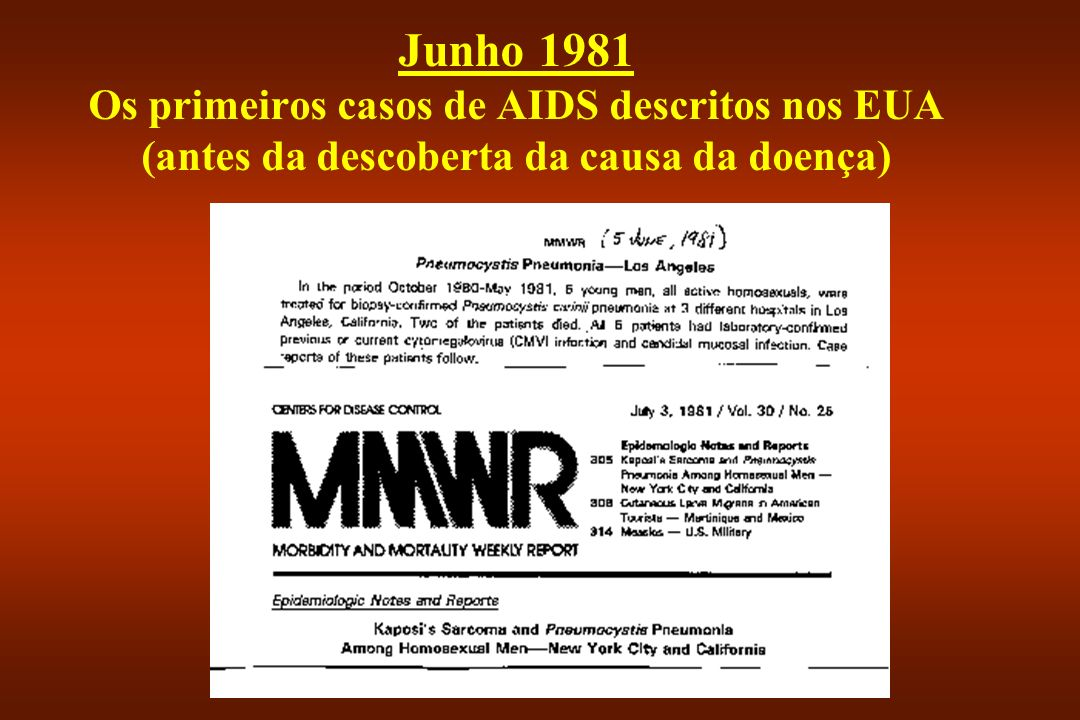 1983:Começou a contagem do tempo...