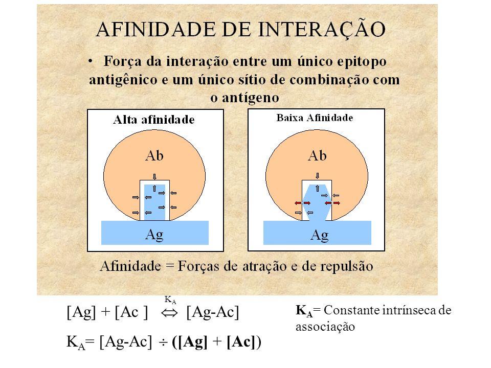 Imunodifusão radial (Mancini) Interpretação –Diâmetro do anel é proporcional à concentração do Ag Quantitativo –Níveis de Ig Método – Anticorpo no gel – Antígeno no poço Ag Concentração Diameter 2 Ag Ac no gel