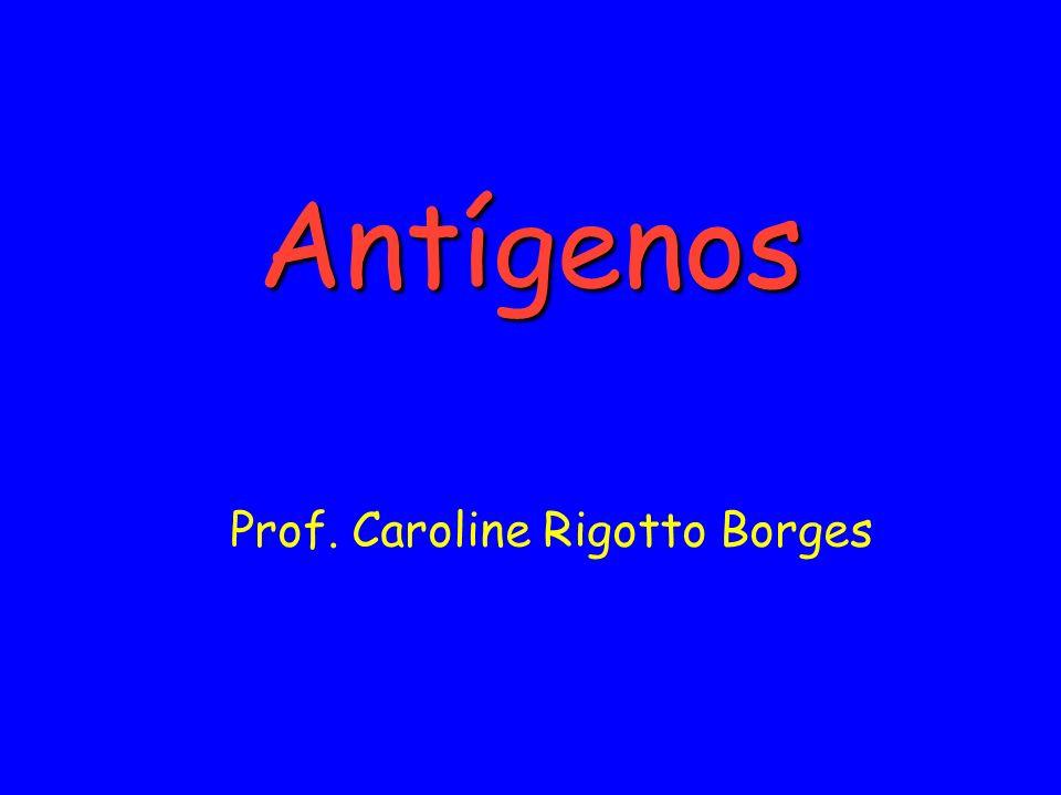 ANTÍGENO ANTÍGENO é toda a estrutura molecular, que interage com um anticorpo.