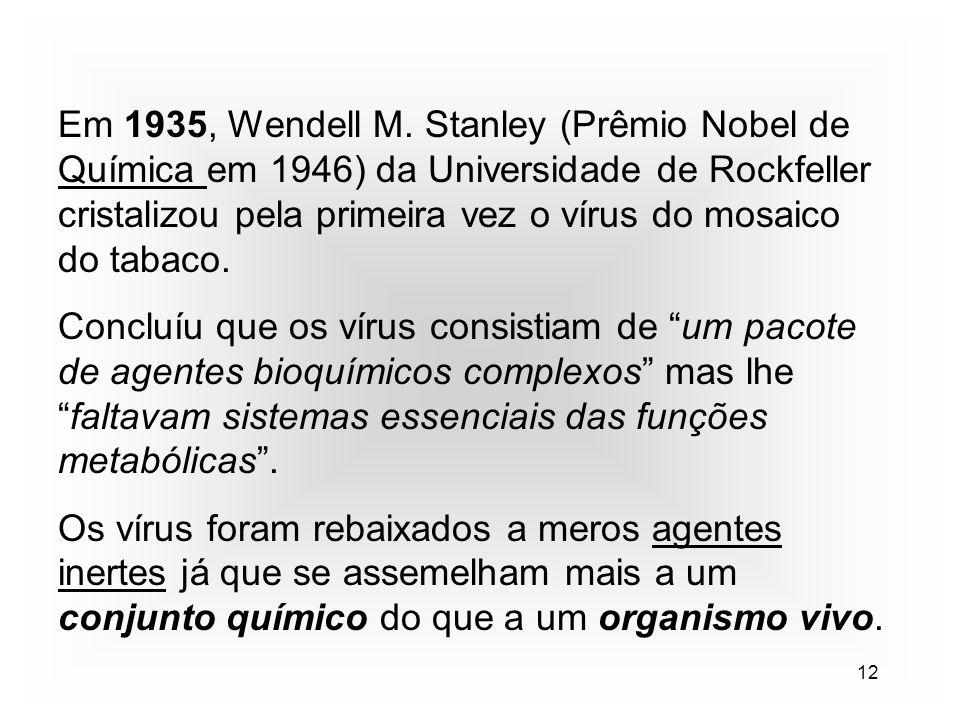 12 Em 1935, Wendell M.