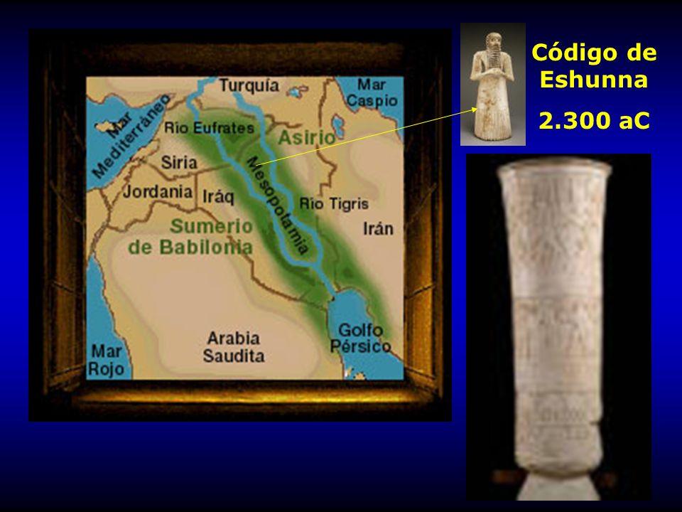 Código de Eshunna 2.300 aC