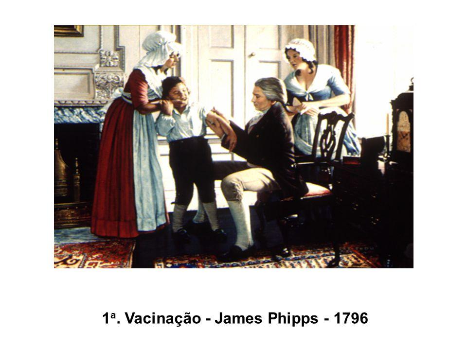 1 a. Vacinação - James Phipps - 1796