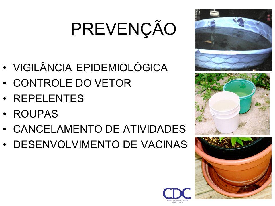 35 PREVENÇÃO VIGILÂNCIA EPIDEMIOLÓGICA CONTROLE DO VETOR REPELENTES ROUPAS CANCELAMENTO DE ATIVIDADES DESENVOLVIMENTO DE VACINAS