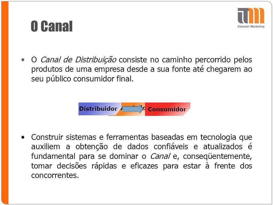 Revendedor O Canal O Canal de Distribuição consiste no caminho percorrido pelos produtos de uma empresa desde a sua fonte até chegarem ao seu público consumidor final.