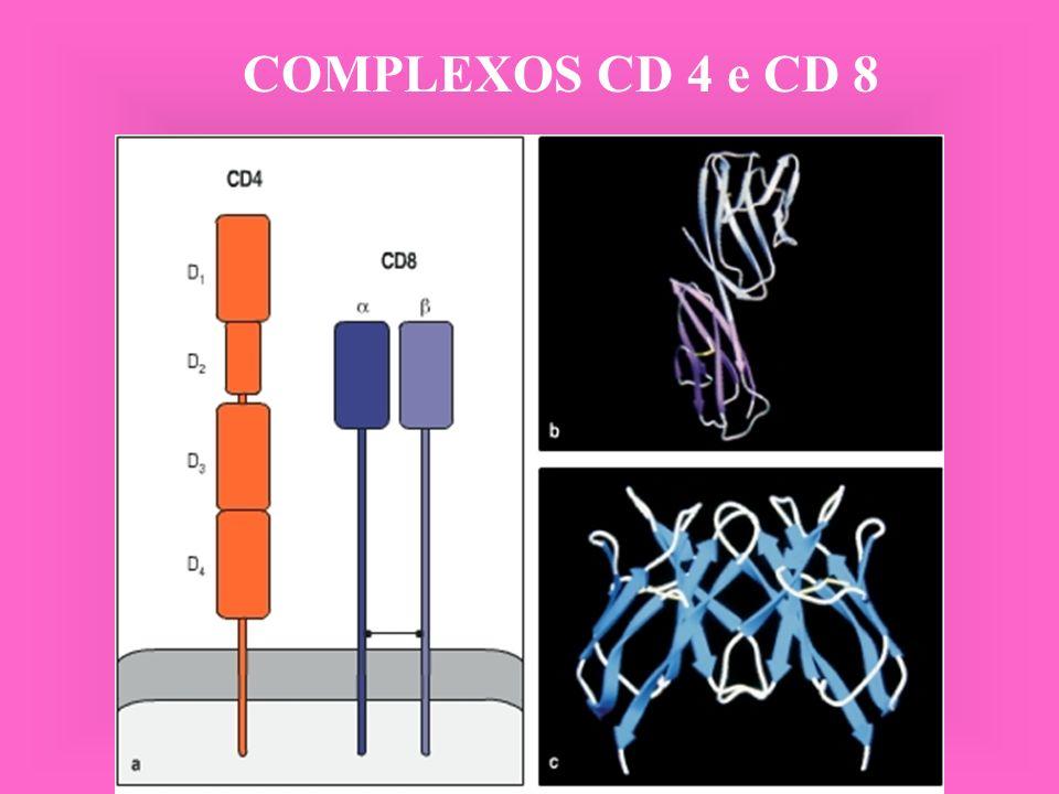 COMPLEXOS CD 4 e CD 8