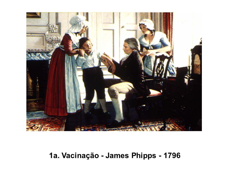 1a. Vacinação - James Phipps - 1796