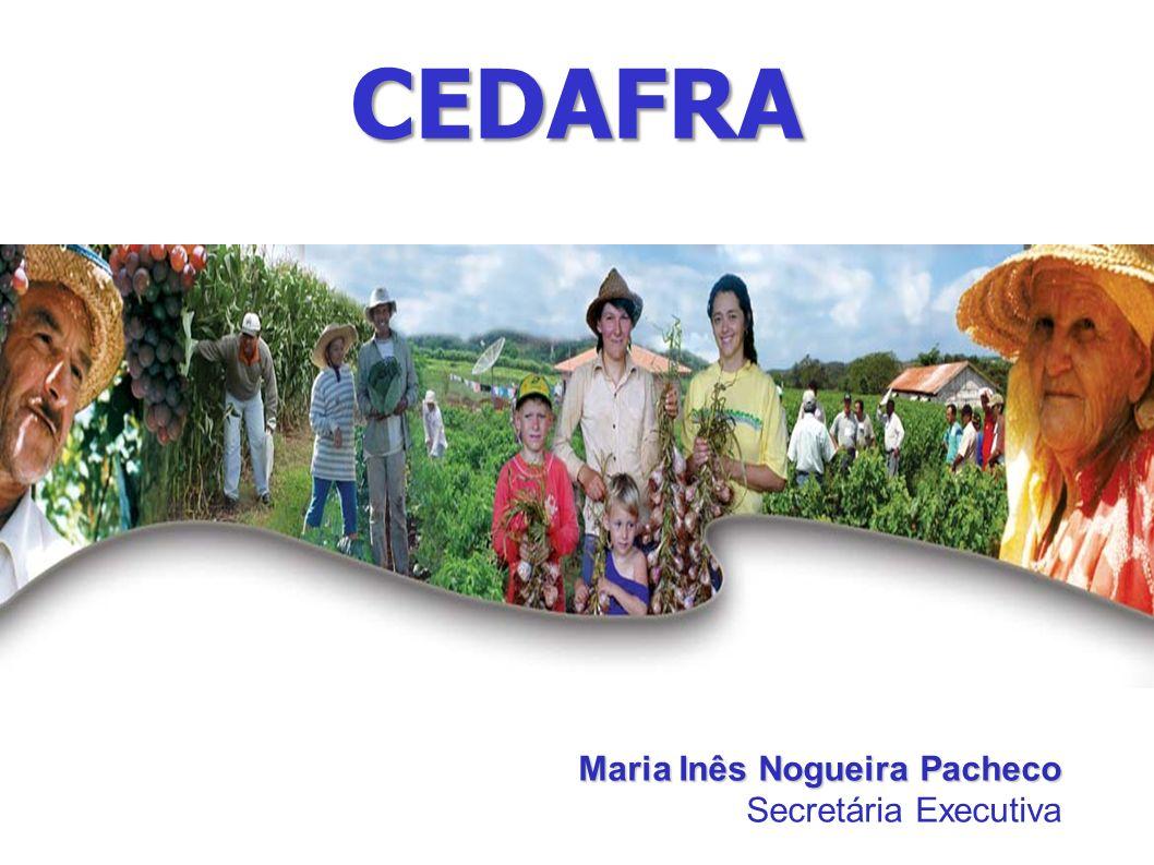 CEDAFRA Maria Inês Nogueira Pacheco Secretária Executiva