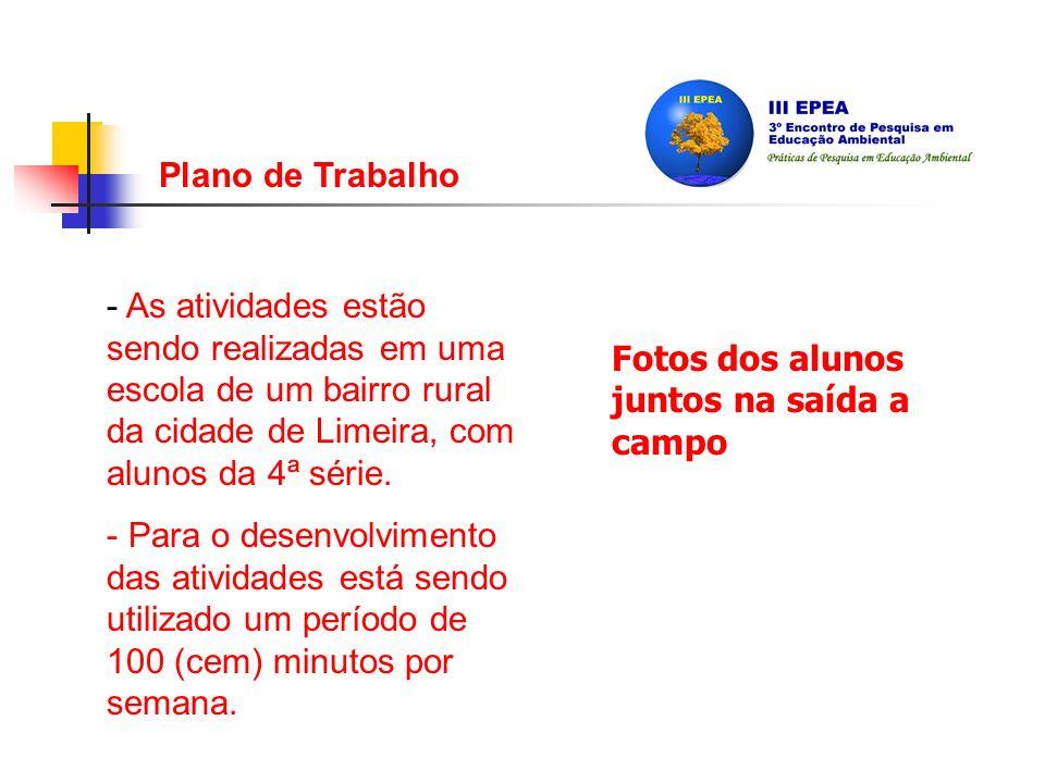 Metodologia A pesquisa é dividida em quatro etapas: - Análise Iconográfica; - Saída a Campo/Ribeirão Pires; - Apresentação das Fotografias Produzidas; - Discussão sobre as relações existentes.
