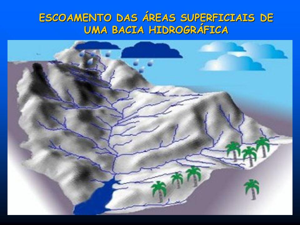 I N T R O D U Ç Ã O BACIA HIDROGRÁFICA – É a superfície do terreno, drenada por um rio principal (talvegue) com seus seus afluentes e subafluentes. A