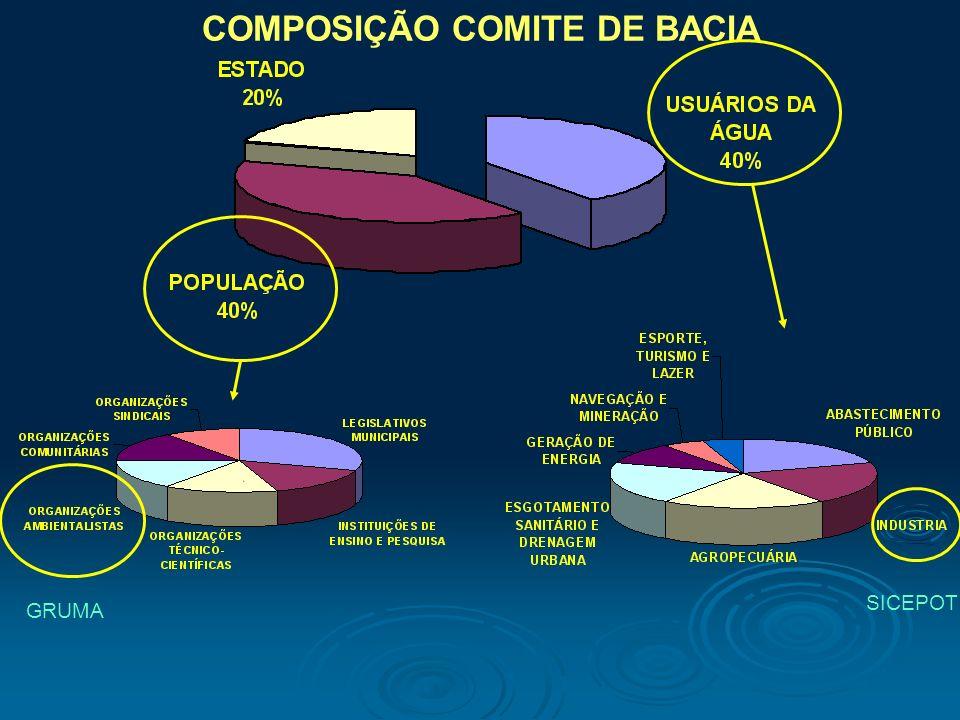 COMPOSIÇÃO COMITE DE BACIA GRUMA SICEPOT
