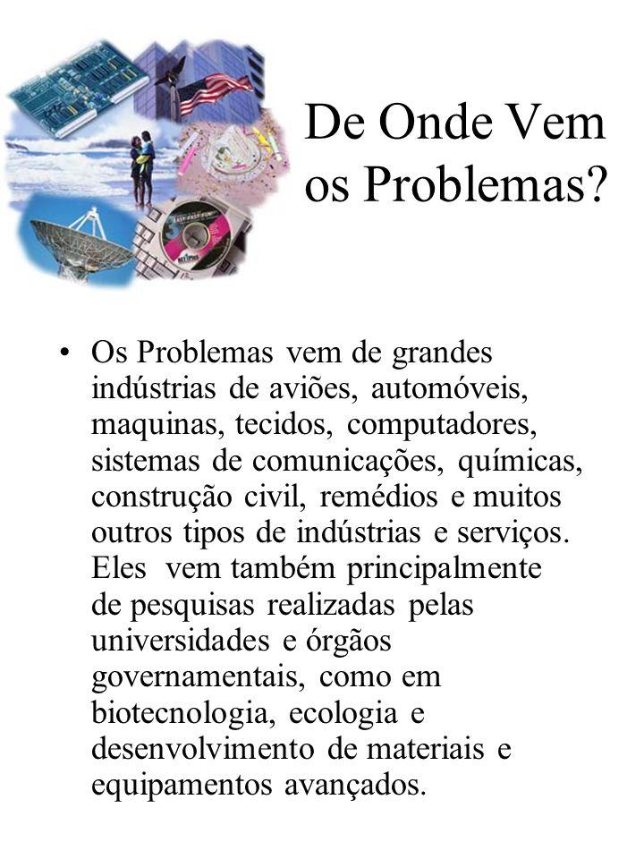 De Onde Vem os Problemas.