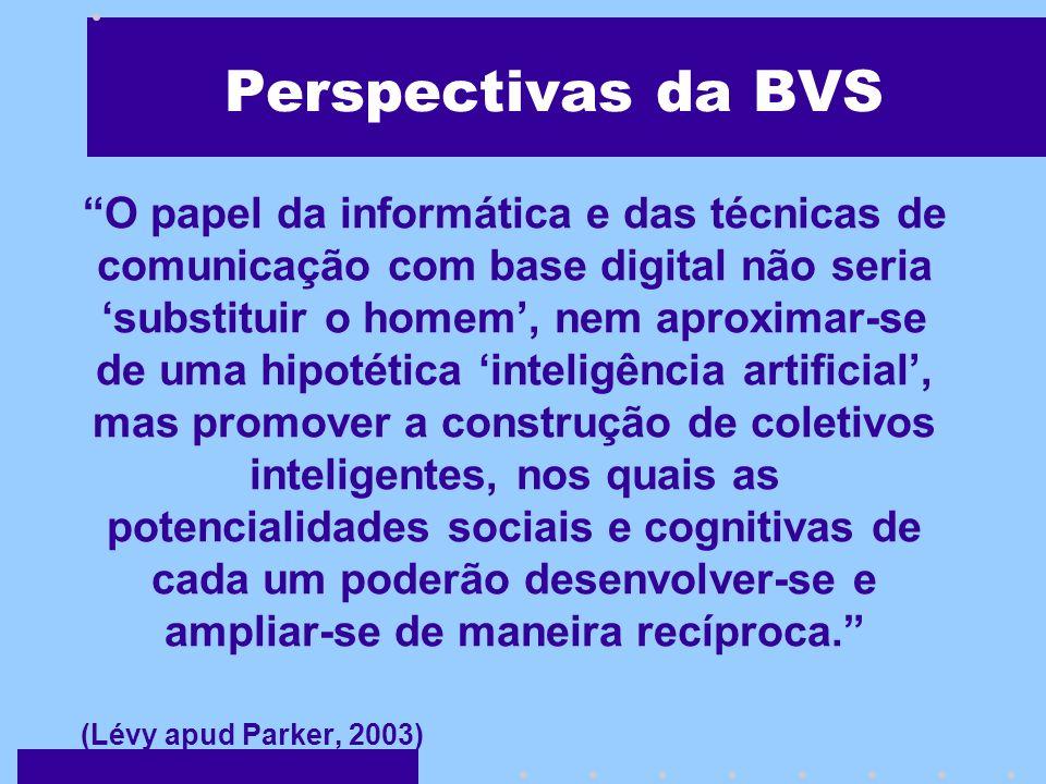 O Papel da BVS-Educ A BVS-Educ é a ferramenta básica para o acesso, a mediação e a gestão do conhecimento da Educação em Ciências da Saúde http://educ.bvs.br