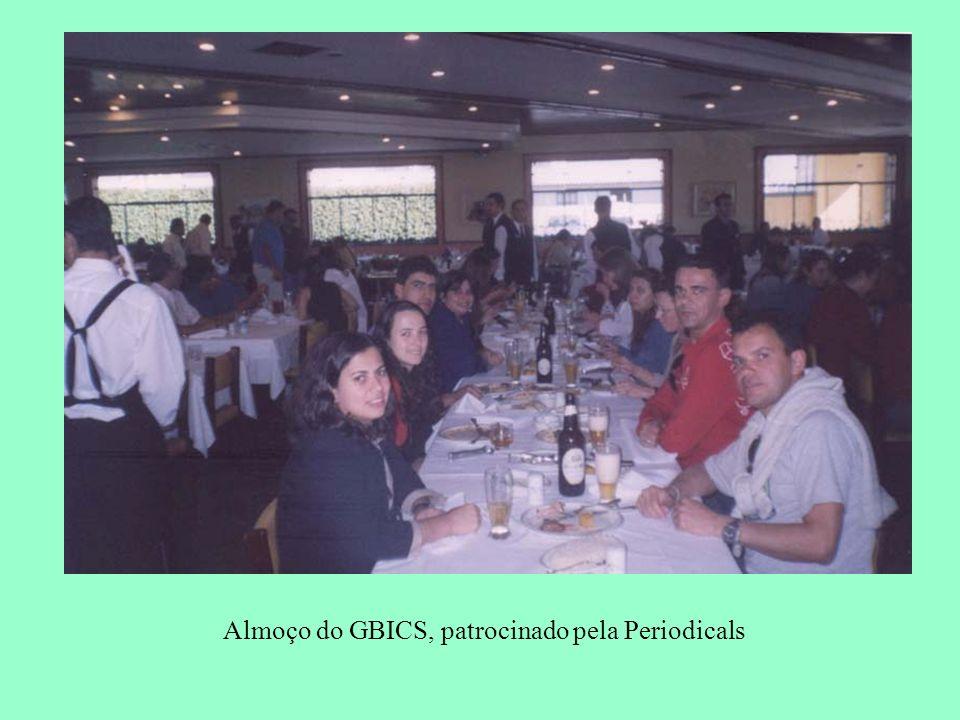 Almoço do GBICS, patrocinado pela Periodicals