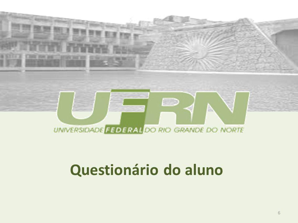 Comissão Própria de Avaliação – Avaliação da Docência 2011 2008 27 2011 Autoavaliação do aluno – MÉDIAS GERAIS