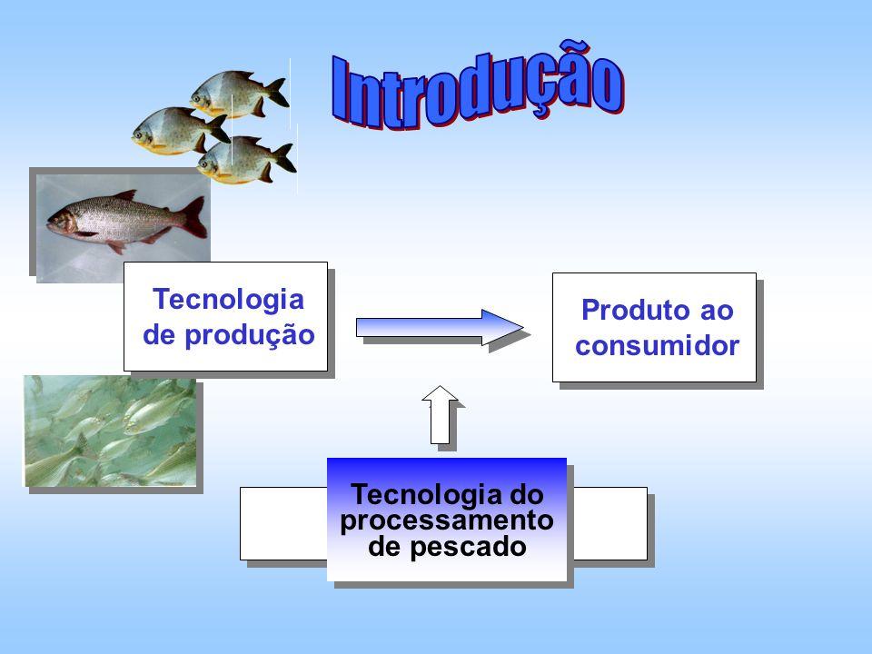 Tabela 1 - Rendimentos de carcaça de algumas espécies de peixes de água doce