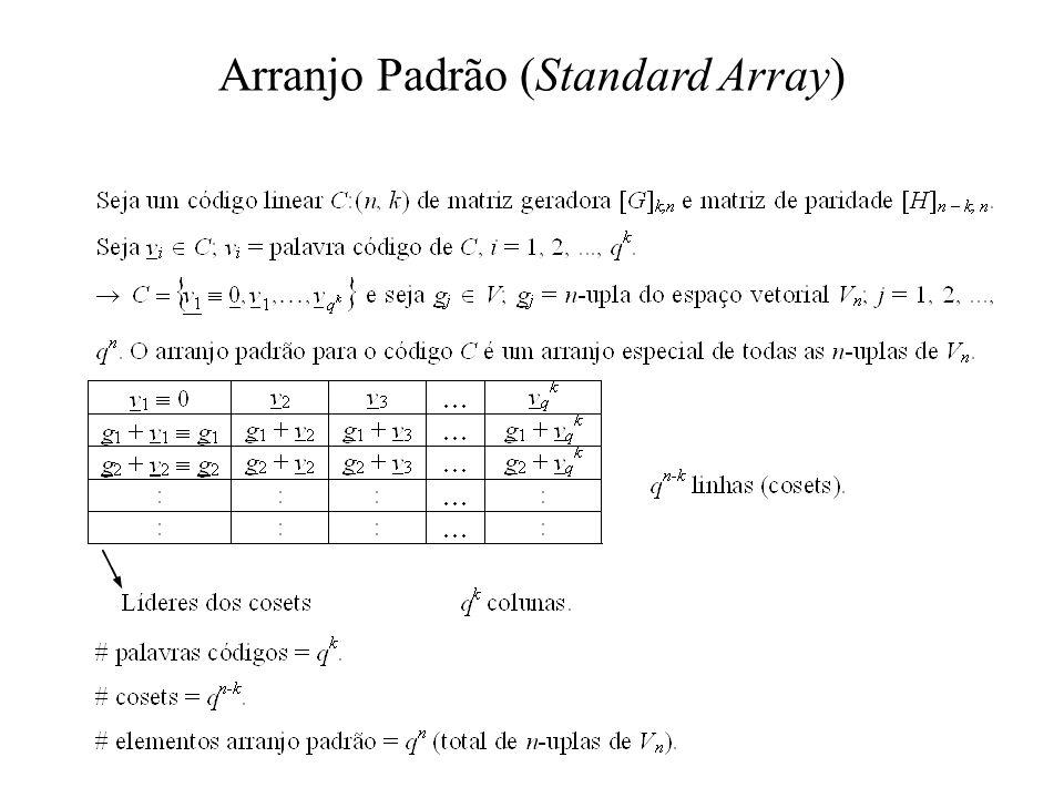 Arranjo Padrão (Standard Array)