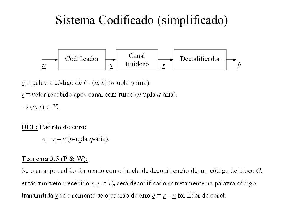 Sistema Codificado (simplificado)