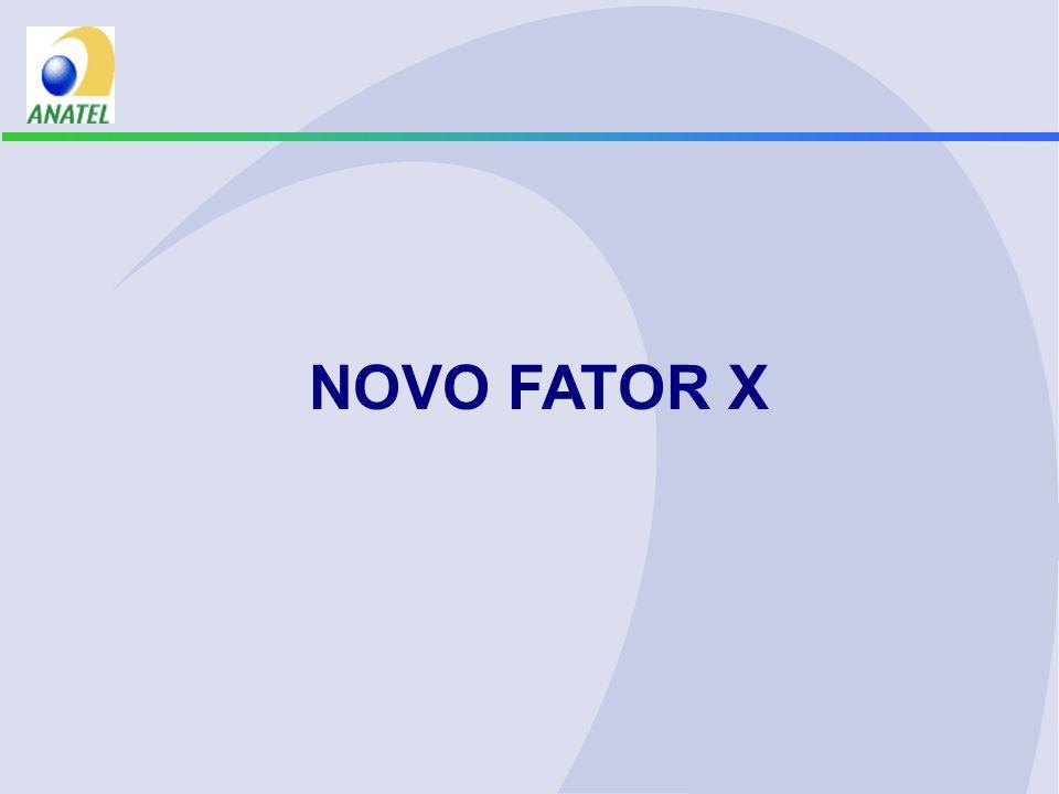 NOVO FATOR X