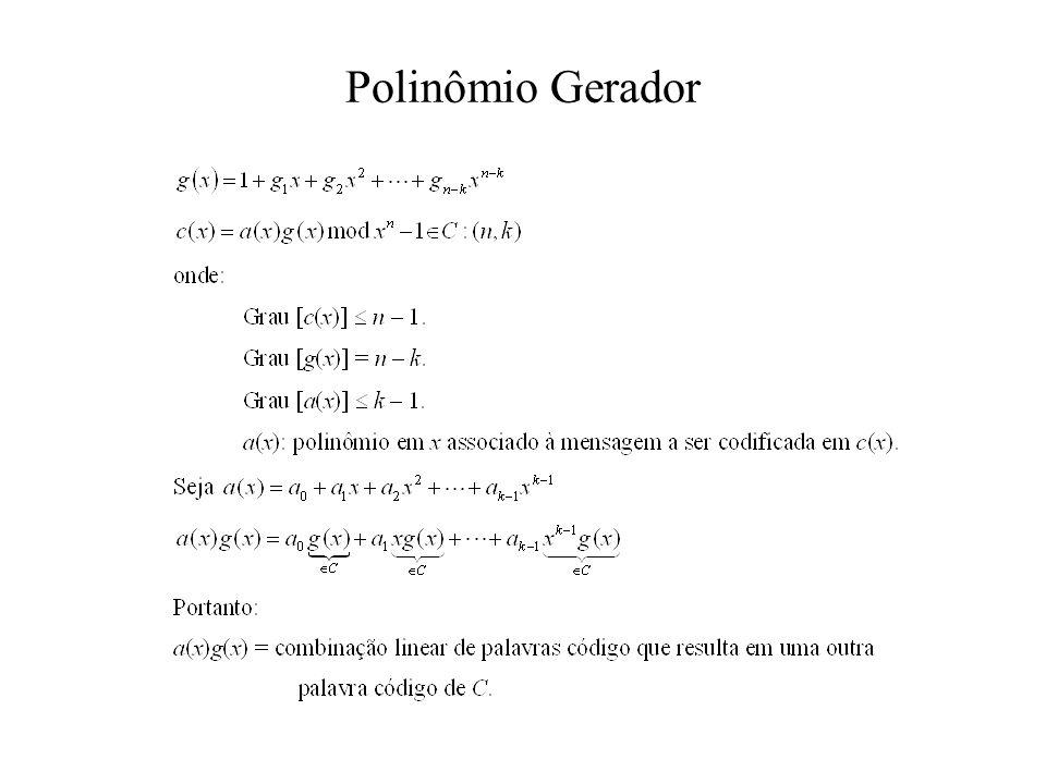 Polinômio Gerador
